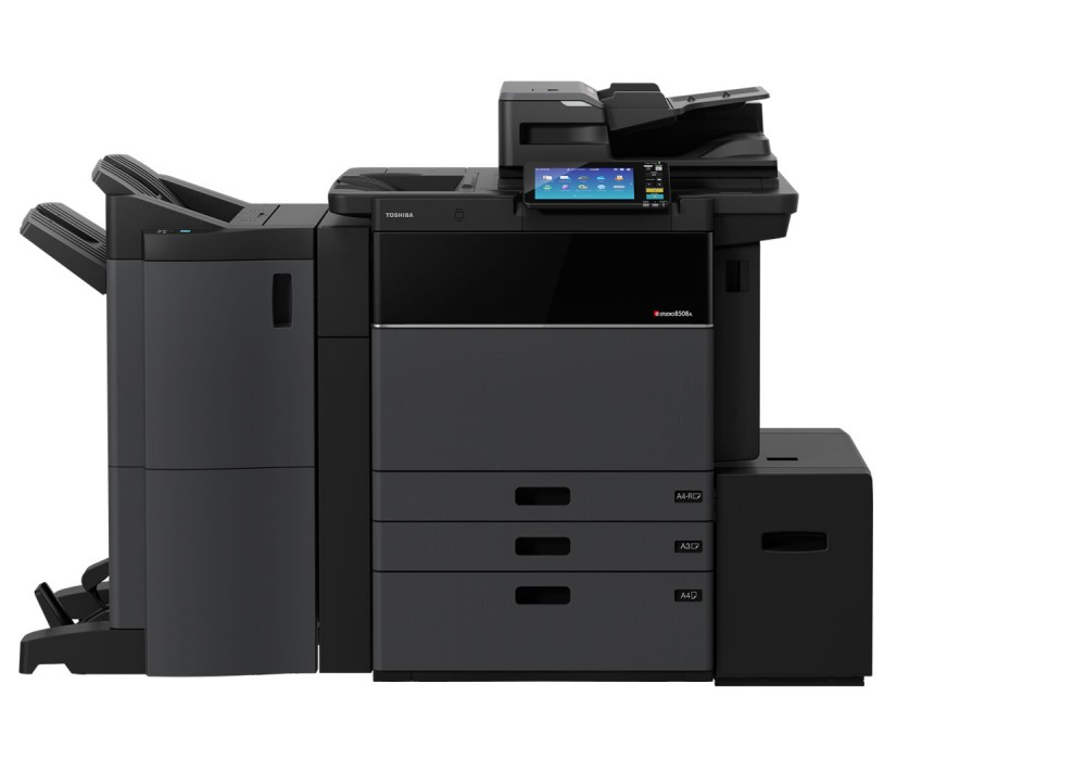 Printer, Scan, Photocopier, Multifunctional, Toshiba, e-STUDIO 8508A, Print, Copy, OCR, Cloud, Monochrome, Crest, Liverpool, Document Management,